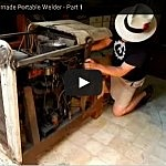 WW-II Vintage Homemade Welder