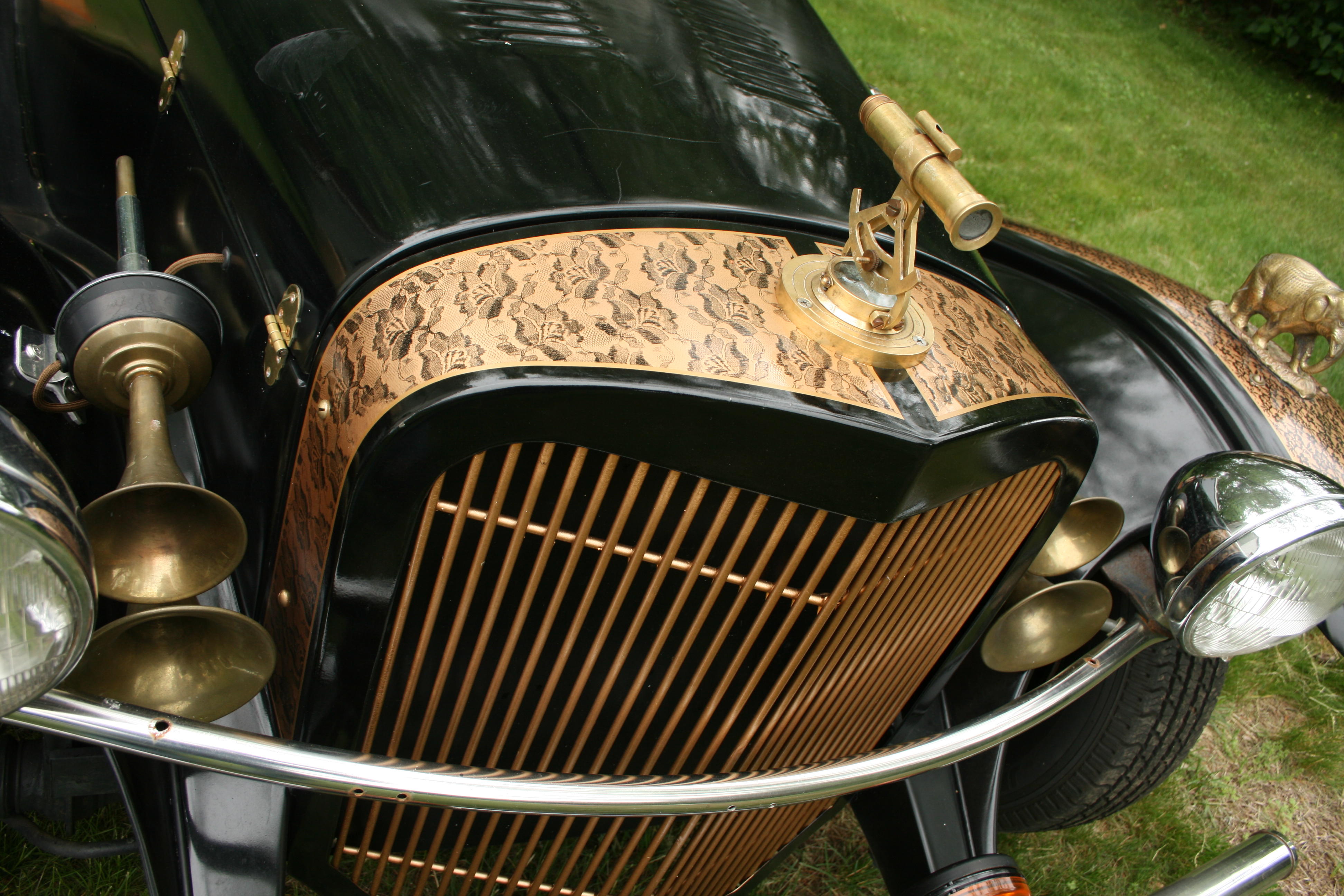 The Steampunk Roadster