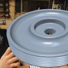 Lost PLA Cast Aluminum Alternator Pulley