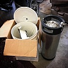 Dump find: complete brew kit with Cornelius keg!