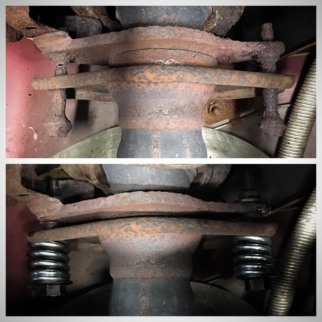 Second repair to this joint in 200K miles. Not too bad!