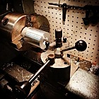 Re-learning the lathe after 15 years without one.