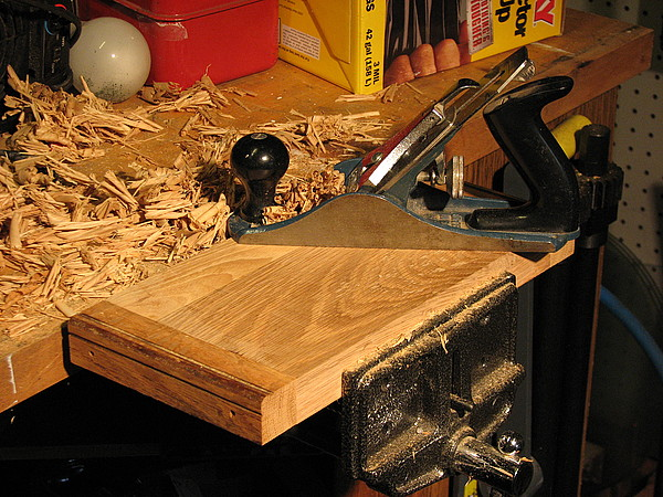 stanley #2 plane oak base