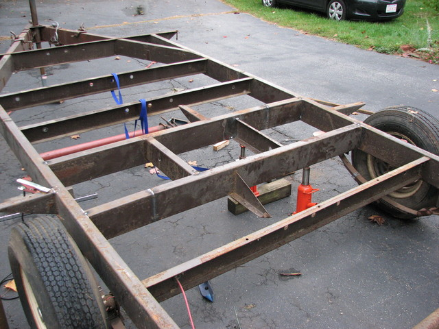 Camper Trailer Chassis Design : Cool Green Camper Trailer Chassis ...