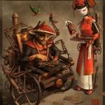 James Ng Eastern Steampunk Art
