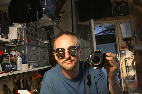 Steampunk prescription goggles