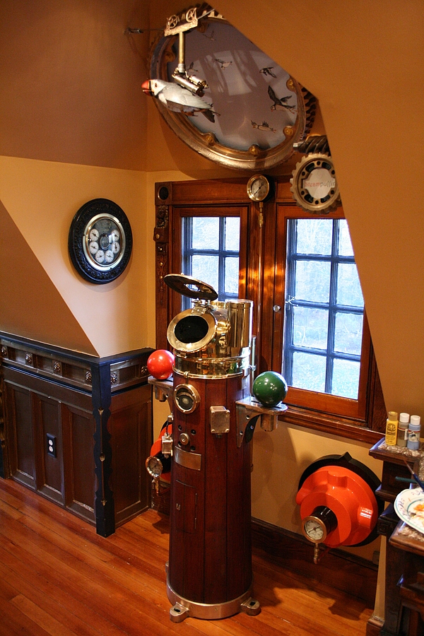 ModVic - The Modern Victorian Steampunk Home