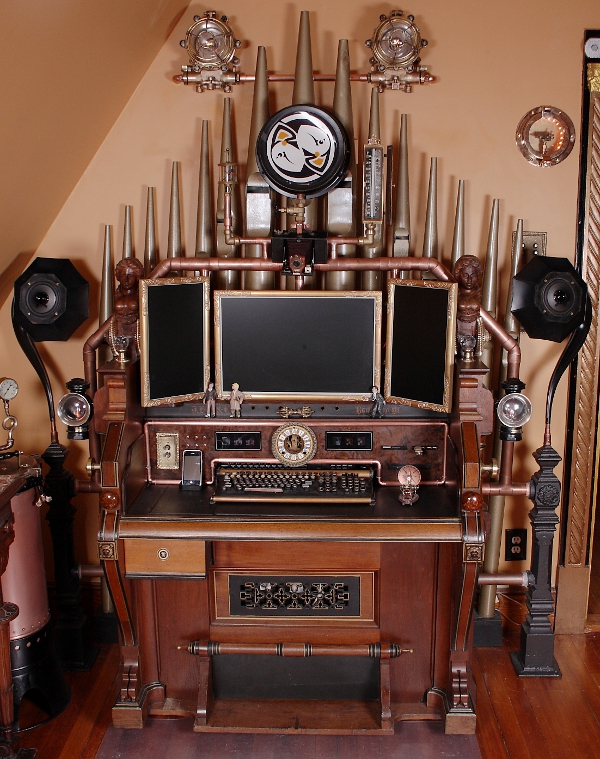steampunk organ by LemurLorian on DeviantArt