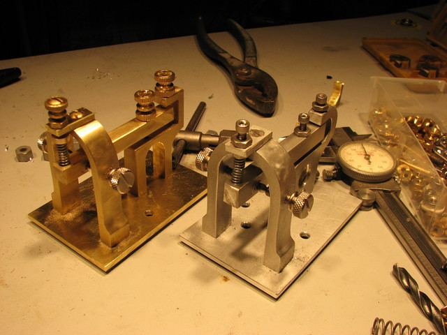 telegraph assemblies and caliper