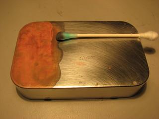 copper plating altoids tin