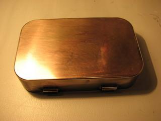 polished tin