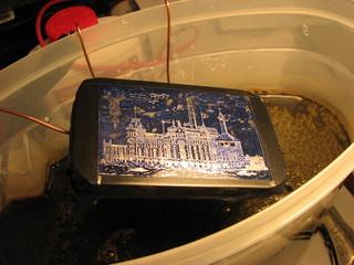 salt water etching altoid tin
