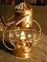 Boatmans Lantern, oil lamp