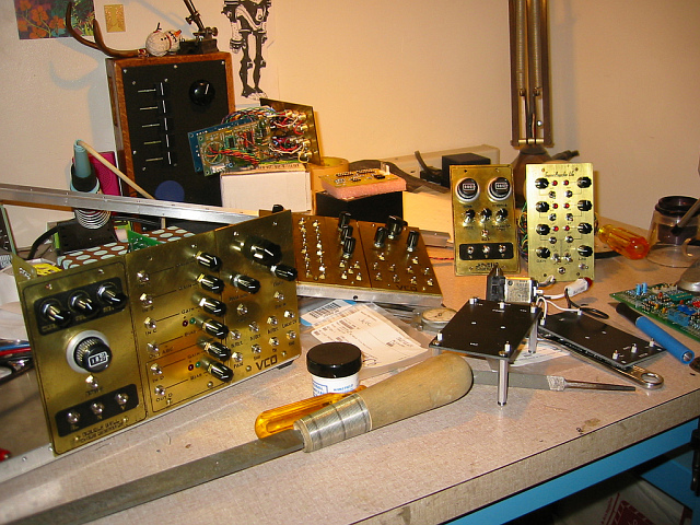 synth on workbench