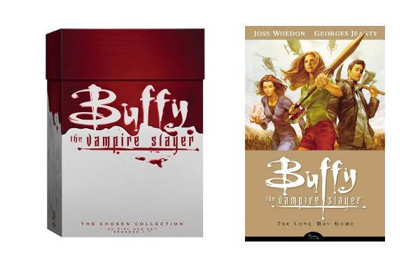 Buffy the Vampire Slayer Boxed Set and Season 8
