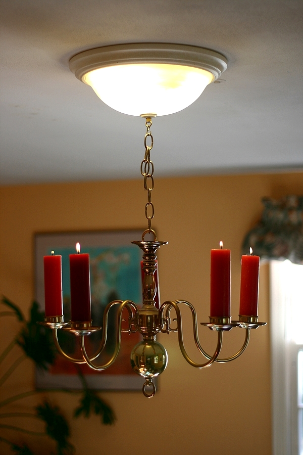 Chandelier Candle Retro Fit