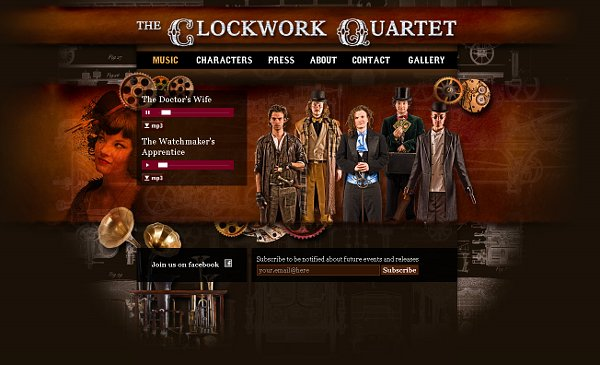 clockworkquartete