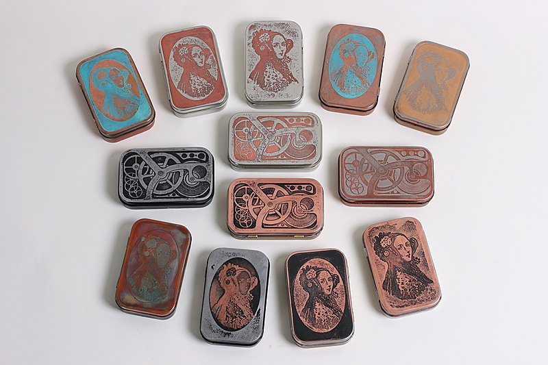 etched altoids tins