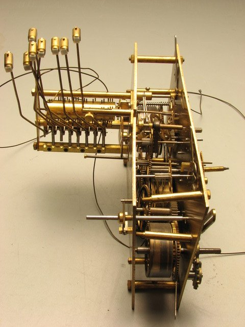 grand fathers clock steampunk escapement