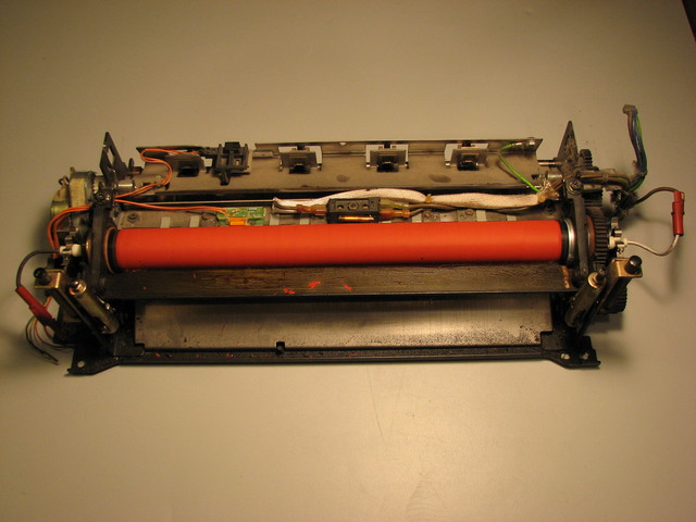 Fuser assembly from Xerox copier