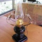 Dual Power Kerosene Electric Lamp