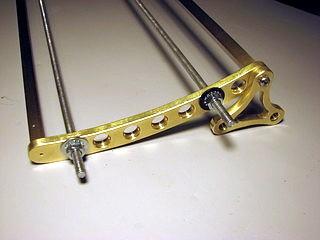 cradle fixture closeup