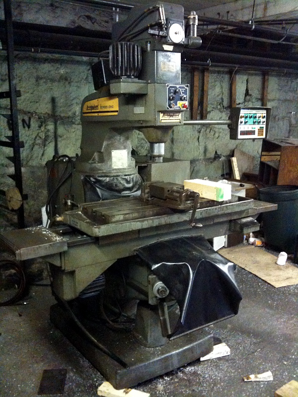 Moving a Bridgeport Series II CNC Mill