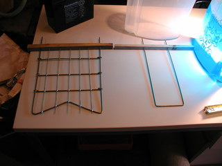 cathode and anode for the etching tank