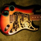 A Clockwork Guitar, the Steampunk Stratocaster
