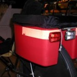 Hardshell Bicycle Trunk