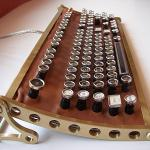 YASPKB! Yet Another Steampunk Keyboard