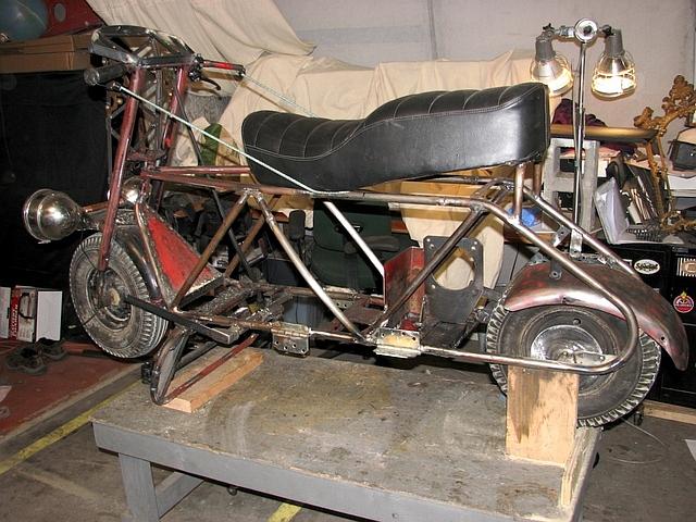 Гибридный мотоцикл своими руками 83
