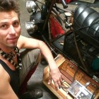 Meet Tom Sepe: Steampunk Artist, Fabricator, Performer