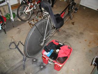 Hardshell Bicycle Trunk