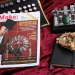 Make: Magazine - Build a Wimshurst Influence Machine