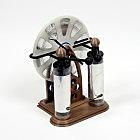 3D Printed Wimshurst Machine