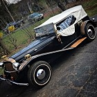 Welp, the company that was going to purchase the Steampunk Roadster to promote their business has let me know that they cannot take delivery after all. So, the roadster is for sale again. Details are here:  http://steampunkworkshop.com/the-steampunk-roadster/  Asking $6K and looking for a quick and easy sale.