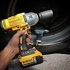 "That bittersweet moment when an old favorite tool is so thoroughly surpassed by the performance of a new tool that you realize you will probably never use it again. This is the Hog-ring Anvil version of the DeWalt 1/2"" impact wrench and it's capable of something like 1,200 ft/lbs."