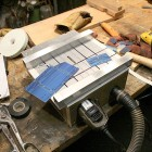 Mini Dremel Table Saw for Cutting Solar Cells