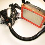 Gas Mask Sawdust Respirator