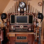 Victorian Organ Command Desk & Steampunk Home Tour