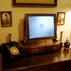 Victorian Marquetry LCD Monitor