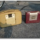 Trash Finds - Vintage Admiral and Akkord Radios