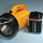 Rechargable Lantern Battery Flashlight Mod