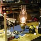 Brass Kerosene Sconce Lamp
