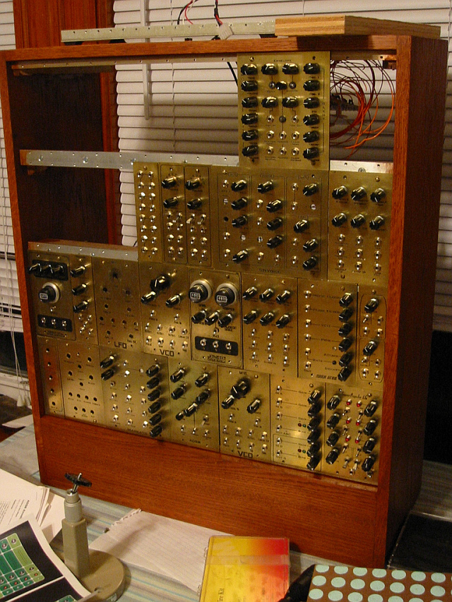Steampunk Analog Synthesizer