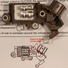 Toyota Yaris Battery Light On - Repair